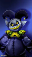 Jevil, but I forgot to upload this sooner by PinksieHeartwishes