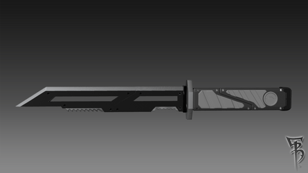 Hunter-Knife-02 by BRokeNARRoW13