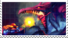 Ridley VS Samus Stamp by Zaira-Karanfil