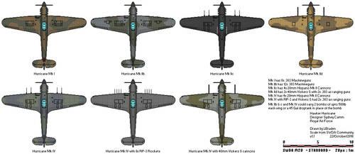 Hawker Hurricane by braden1986