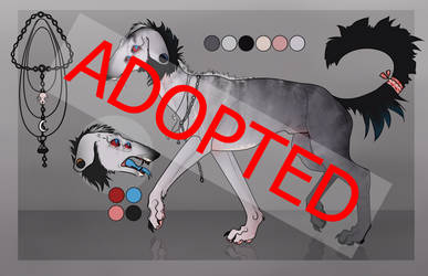 CANINE ADOPT|#1 CLOSED by BlueBirdFeathers