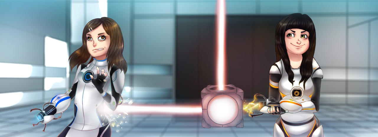 Portal 2 - Friendship by RinCat13