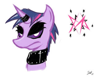 Silly - Gothy Twilight by grayscalerain