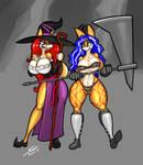 Halloween '17 - Ranged vs Melee