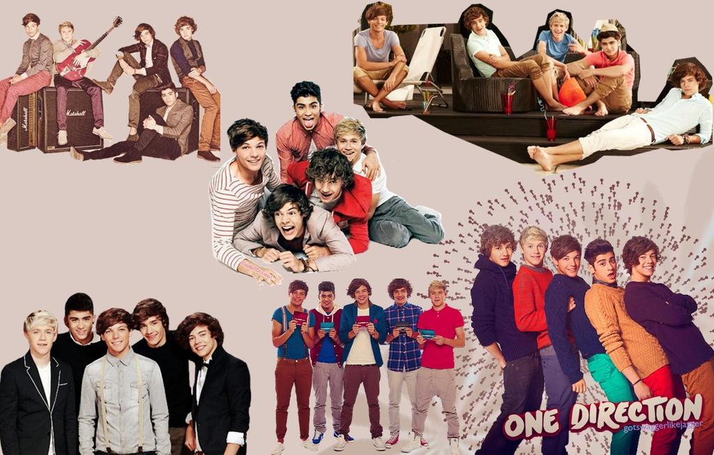 One Direction Wallpaper By GreekFreak7