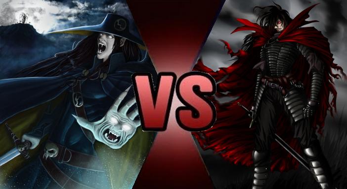 Vampire Hunter D vs  Alucard Alt  by GokuvsSuperman117Vampire Alucard
