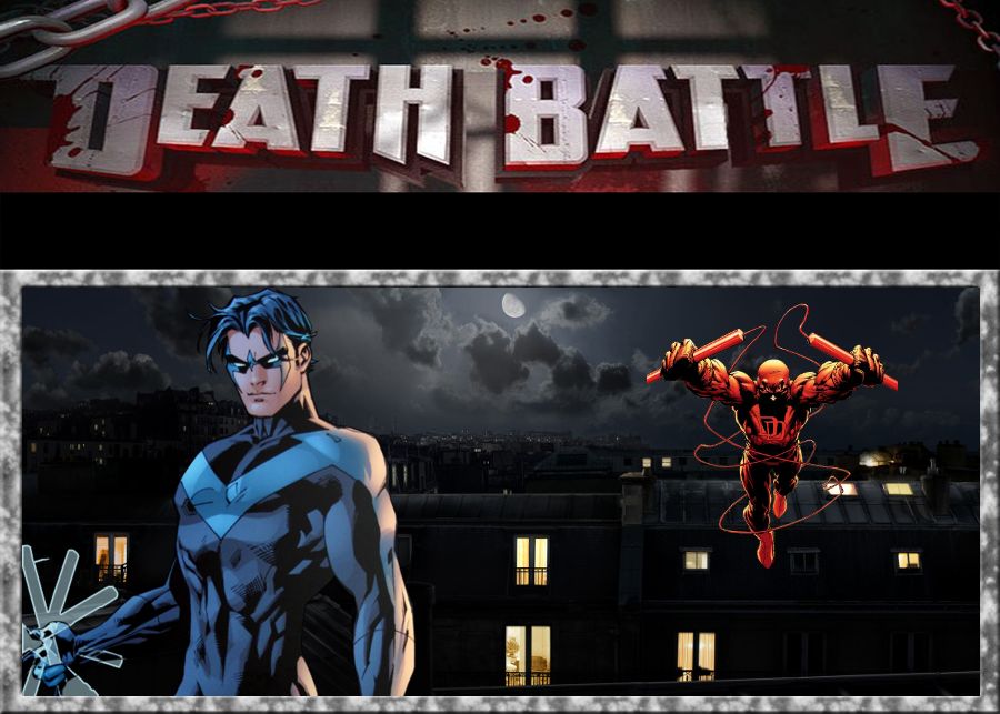 Death Battle Nightwing Vs Daredevil By Gokuvssuperman117 On Deviantart However, i cannot decide who my oc ray lee should go up against. death battle nightwing vs daredevil