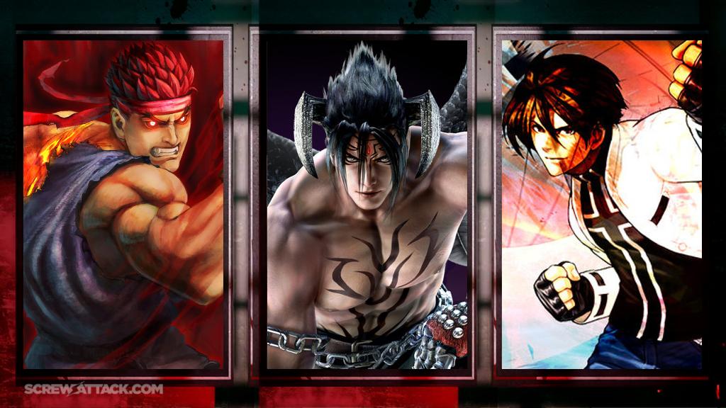 Ryu vs. Jin vs. Kyo Pre-Battle 2 by GokuvsSuperman117