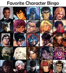 Favorite Characters Bingo