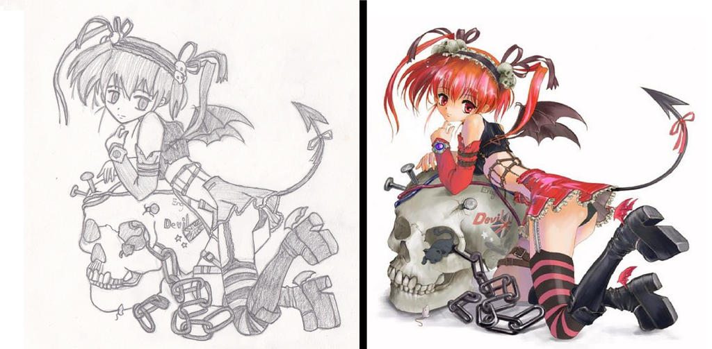 Programs For Anime Drawing Old Anime Drawing 1 by