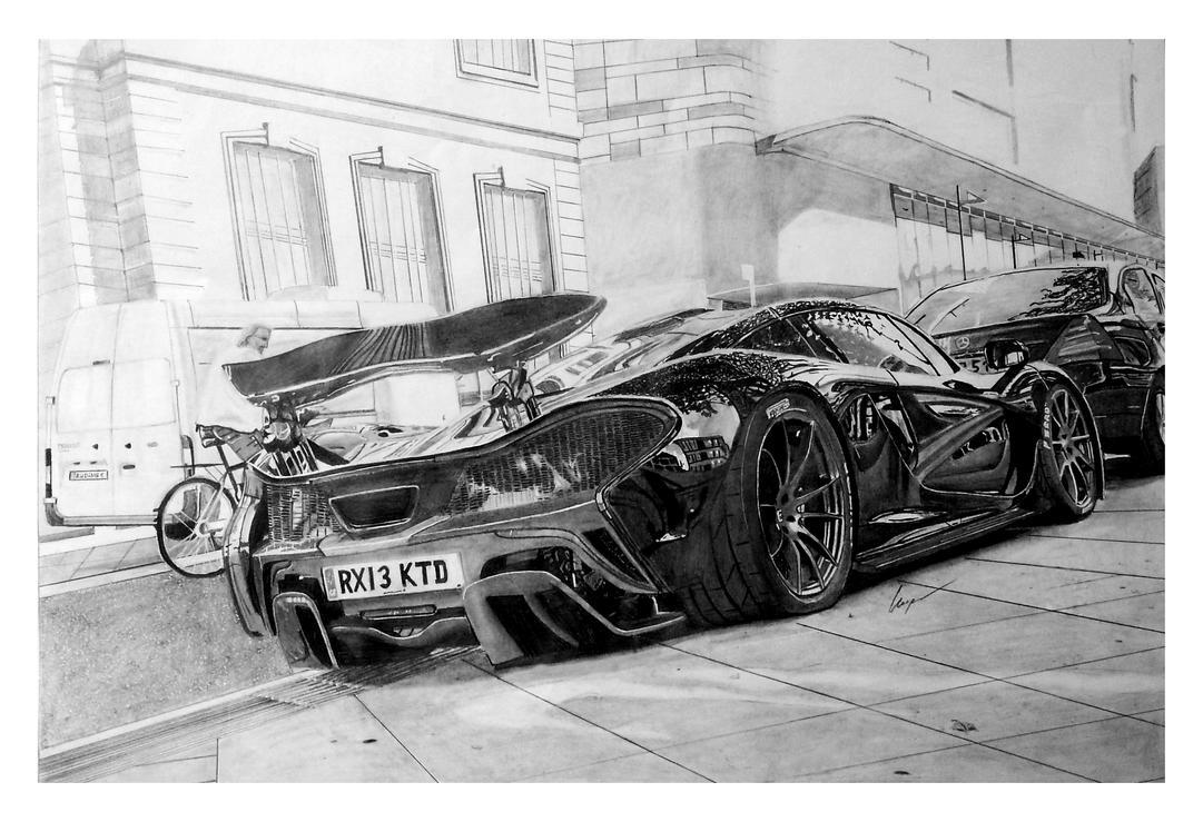 McLaren P1 In London By KacperMamcarcyzk On DeviantArt