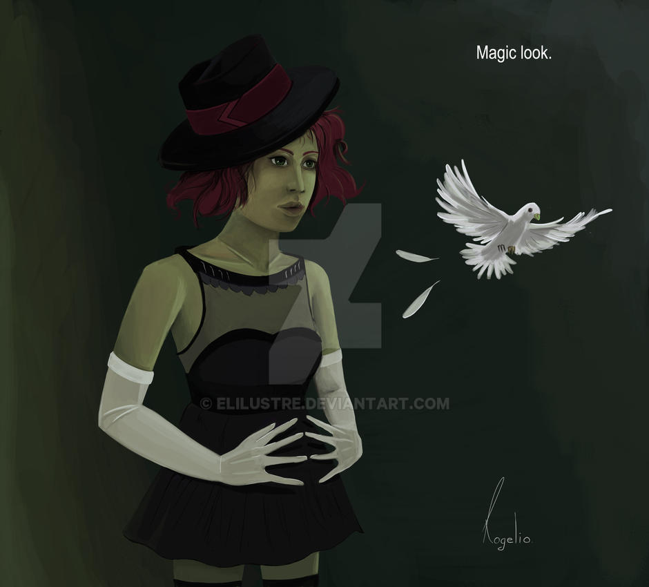 Magic look. by Elilustre