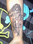Manga Tattoo - Lucy Elfen Lied