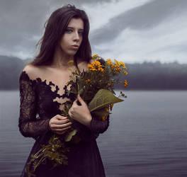 Sad princess by akne5
