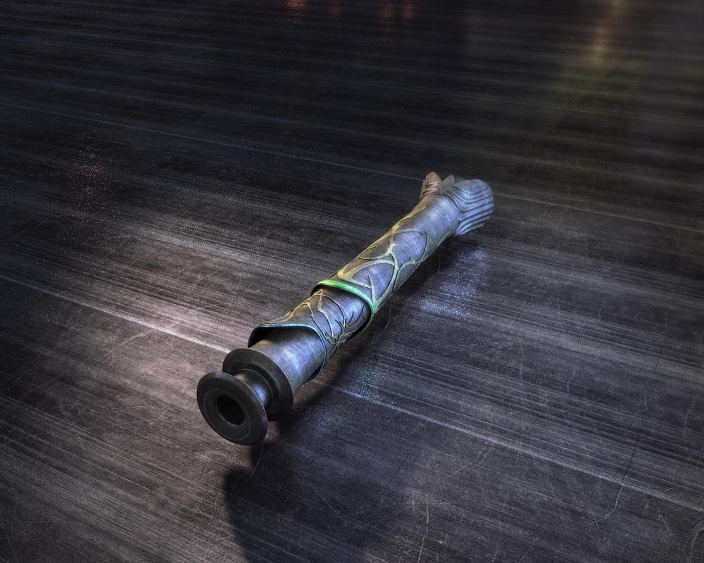 Lau'Ren's Lightsaber by MagyarEagle