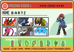 My trainer Card by B-Drawer