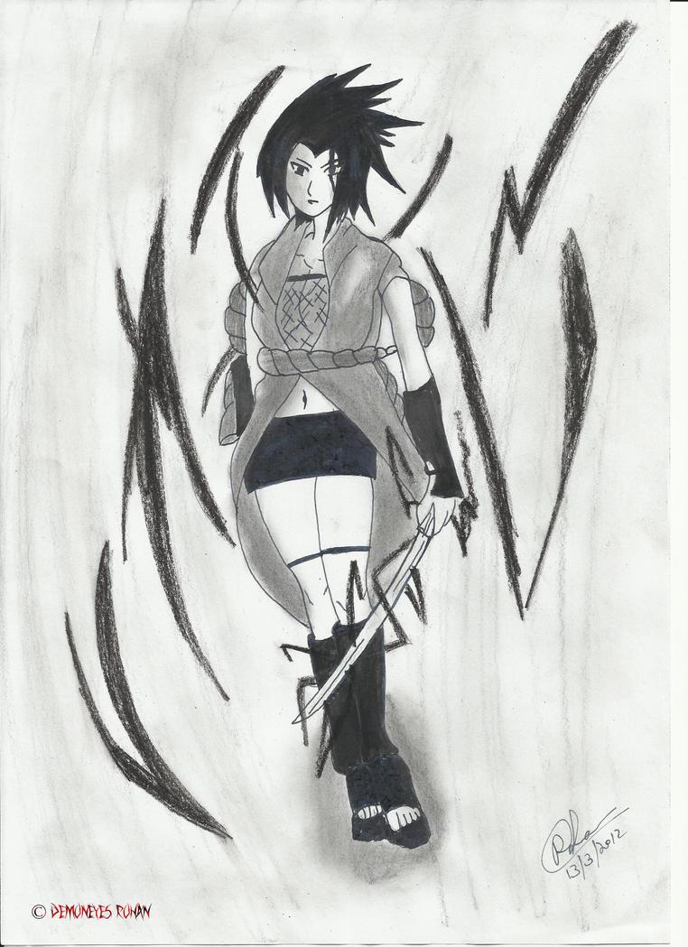 Fem Sasuke Uchiha- Sasuko by kumikouzumaki13 on DeviantArt