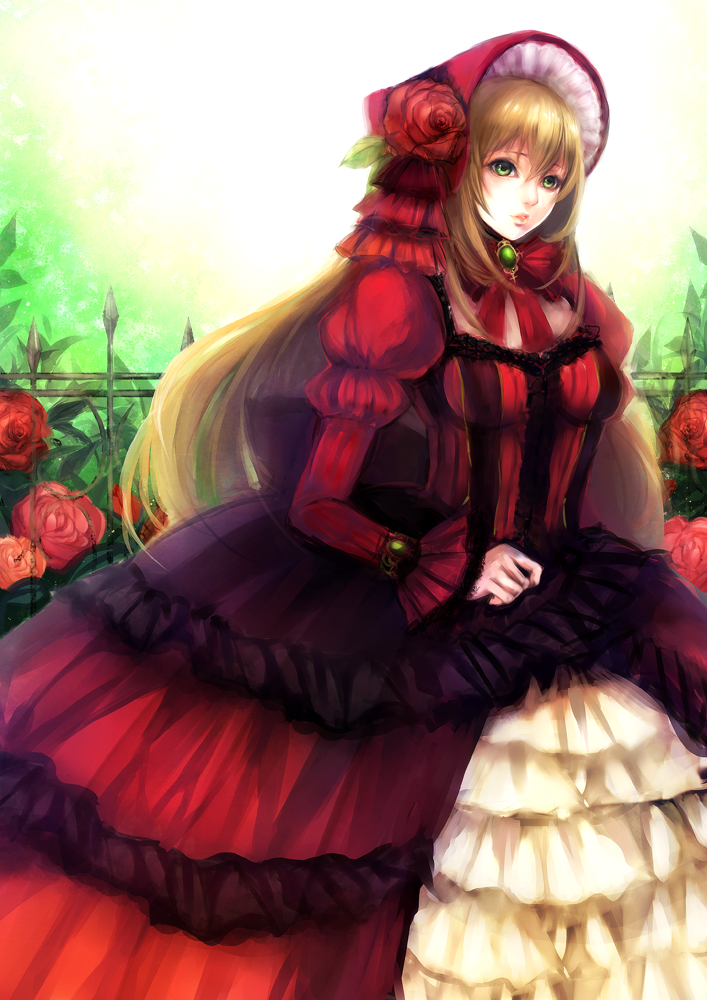 The red dress by Ryo-Sasaki on DeviantArt