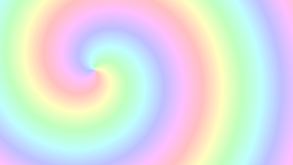 Rainbow Pastels Spiral by bloomandprosper on DeviantArt