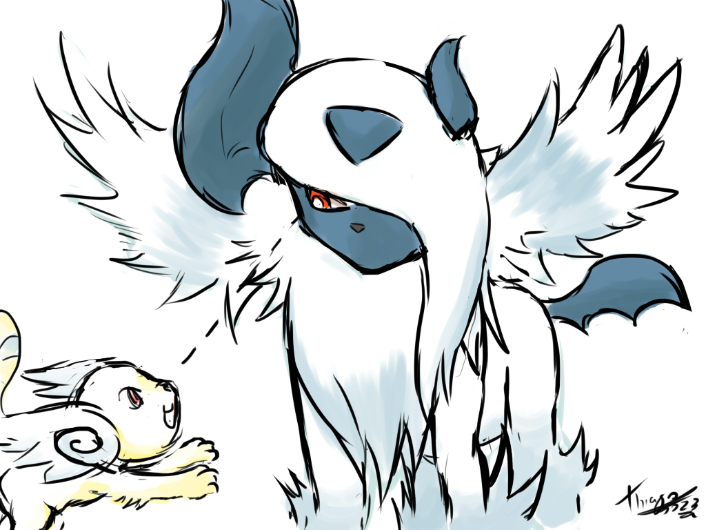 - Mega... Absol ? - by thiago0023 on DeviantArt
