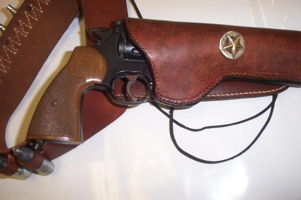 Leather Western Holster by Kristov-Gregoriovich on DeviantArt