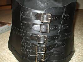 Leather corset2 by Kristov-Gregoriovich