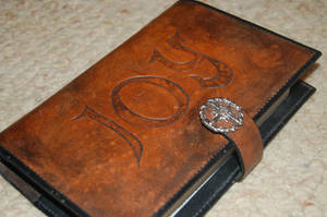 Leather Bible Book Cover by Kristov-Gregoriovich