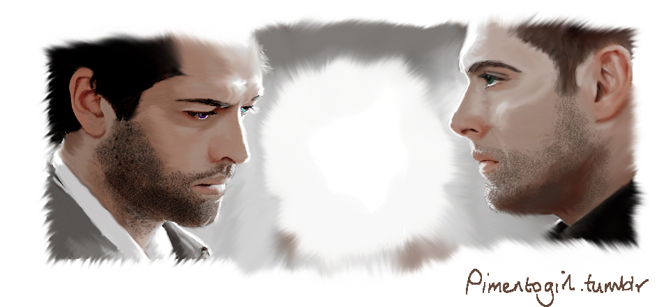 Look at Me, Cas by Pimento-Girl