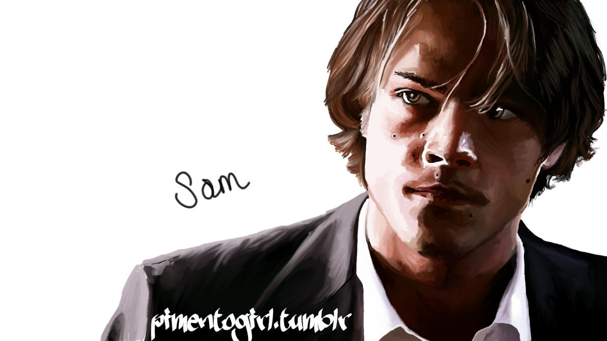 Sam In Shadow by Pimento-Girl
