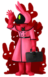 Plague Bunny by Honeybox360