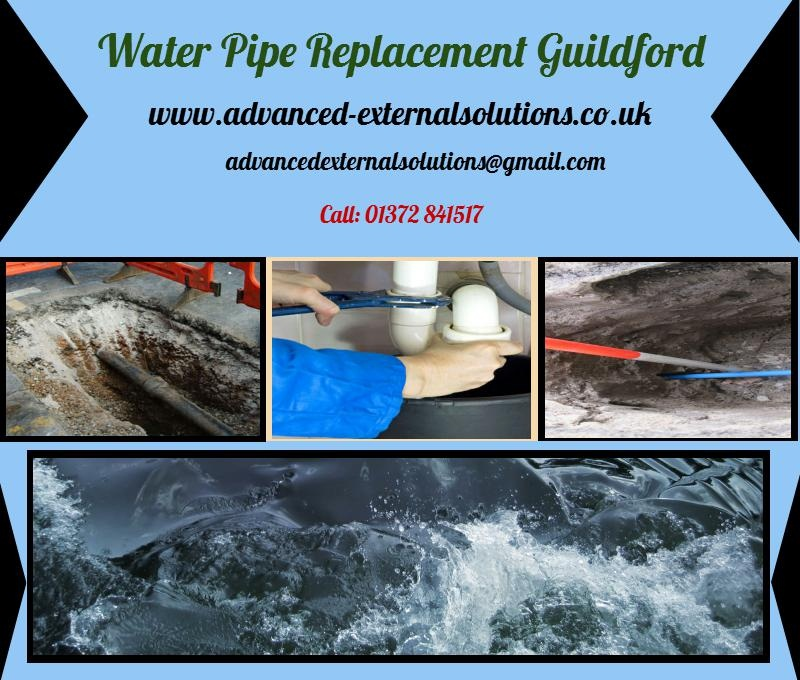 Words With Water Pipe Replacement : Water pipe replacement guildford by externalsolutions on