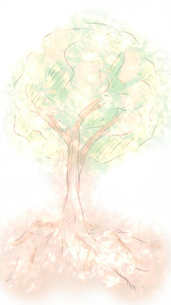 Sketch This: Tree In 15 Minutes by countdanse
