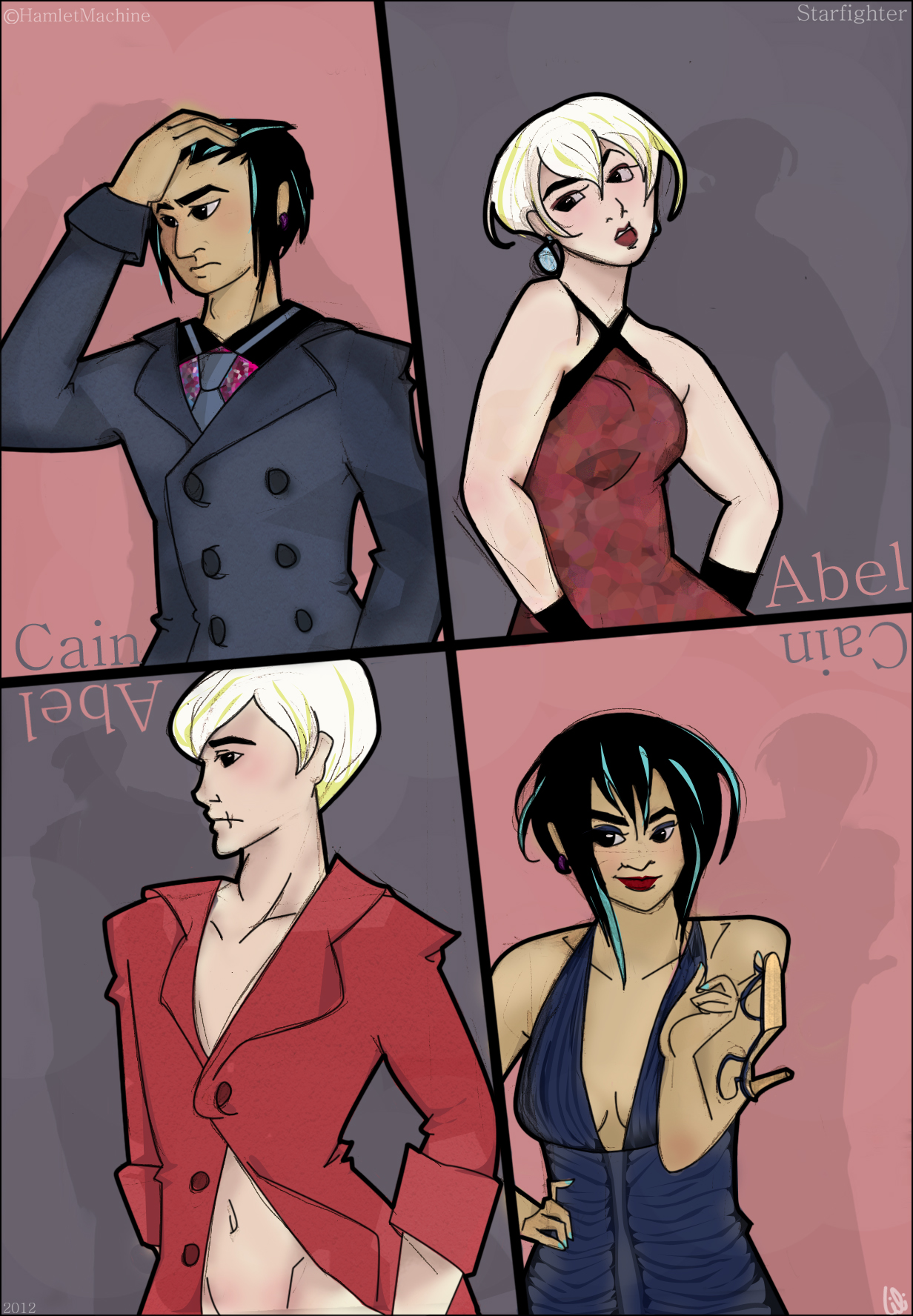 Starfighter - Genderbending Gentlemen by furya21
