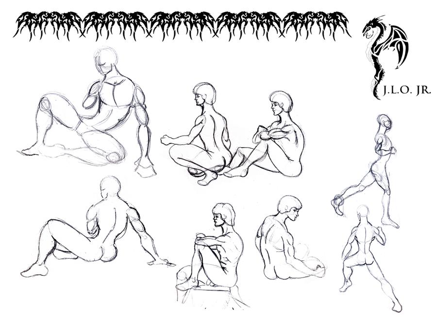 male sitting poses by jortegadesigns on deviantart male