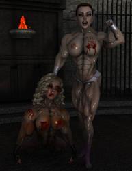 Lara Croft - Untouchable Brawler by Hellequin11