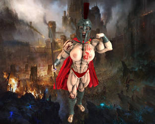 Lenka - The Warrior by Hellequin11