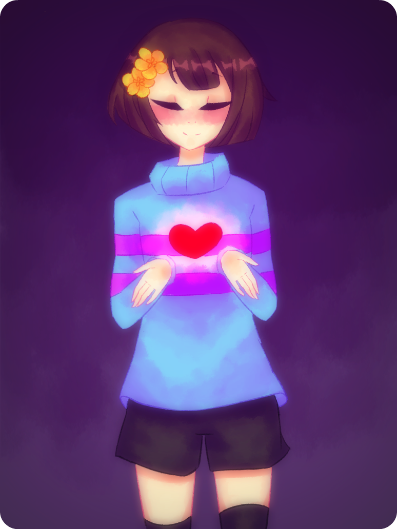 Undertale: Gentle Frisk by NamineLee