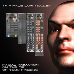 Techno Chris Face Controller by TargetView