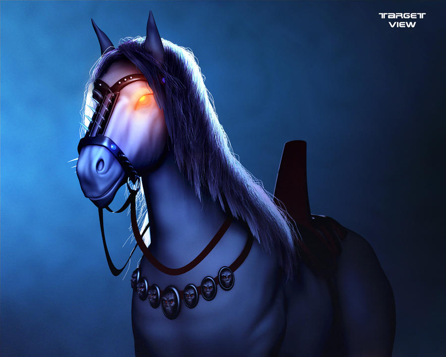 Yume Black Deathrow_horse_final_by_ionisys-d4pzrux