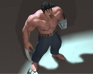 Wolverine Wip 2 by TargetView