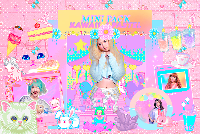 |Pack Kawaii Pastel| by LonesomeStreet