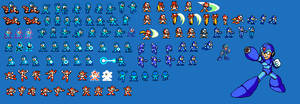 Random Mega Man sprites