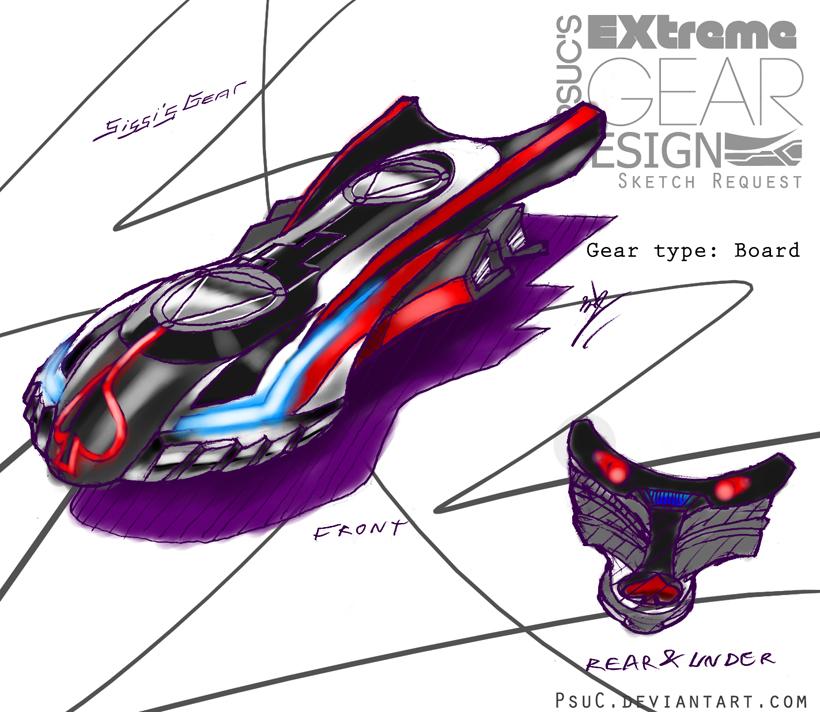 Ex Gear Design Req. : Sissi by PsuC