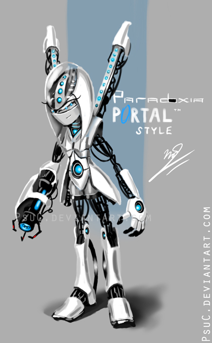Portal Styled Paradoxia By Psuc On Deviantart