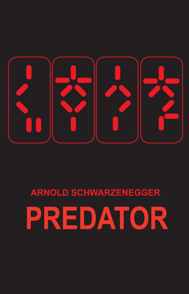 Predator Movie Poster by d-art-studios