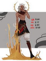 Sand Mage Auction (CLOSED) by IWHBYDAdoptables