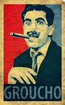 Groucho Marx Vector Poster