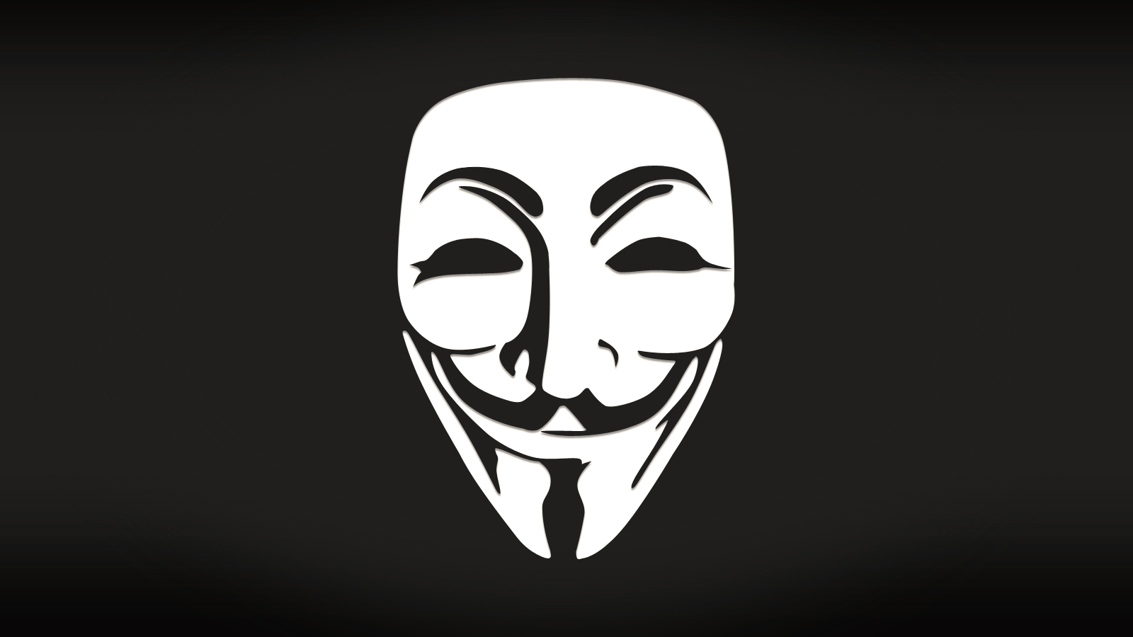 Anonymous by mik...V For Vendetta Mask Wallpaper