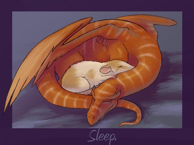 +Sleep+ Kiriban for malinas by LainDragon