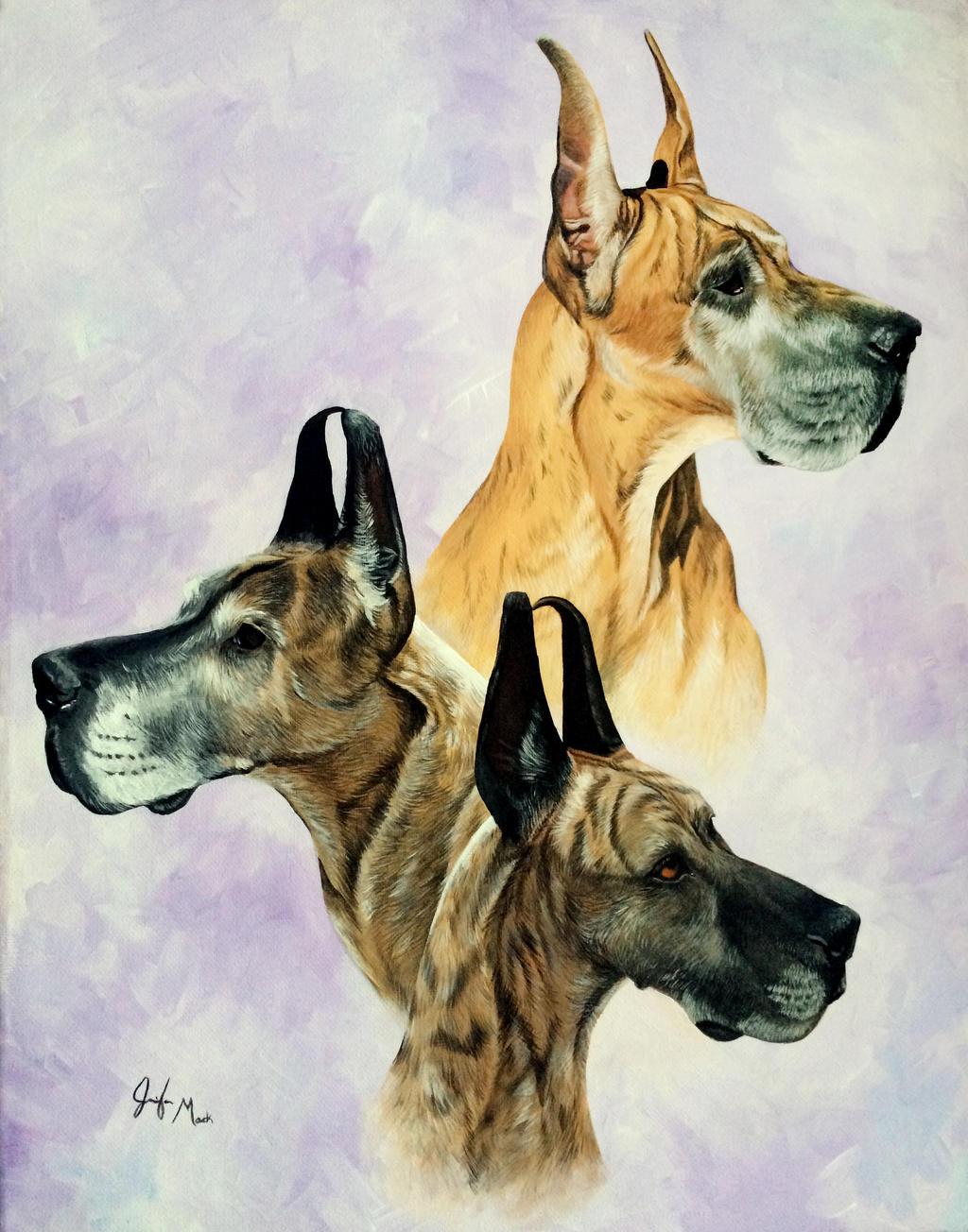 Cheyenne, Asia, and Georgia by LainDragon